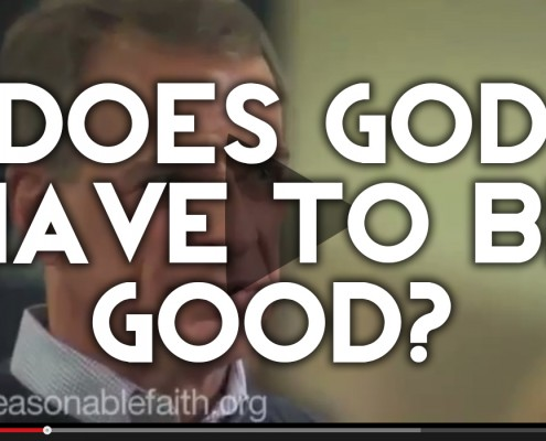 DOES god have to be good