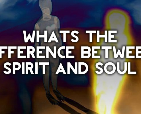 what is the difference between spirit and soul
