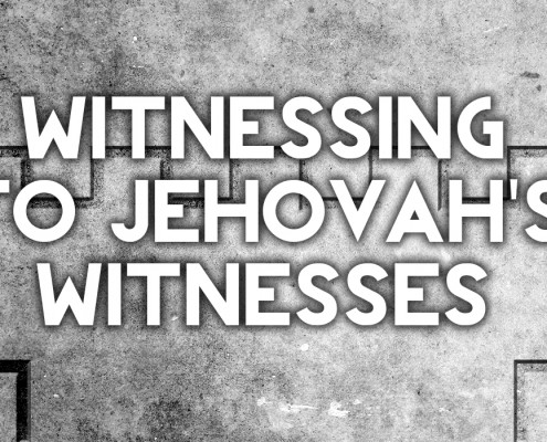 witnessing to jehovahs witnesses
