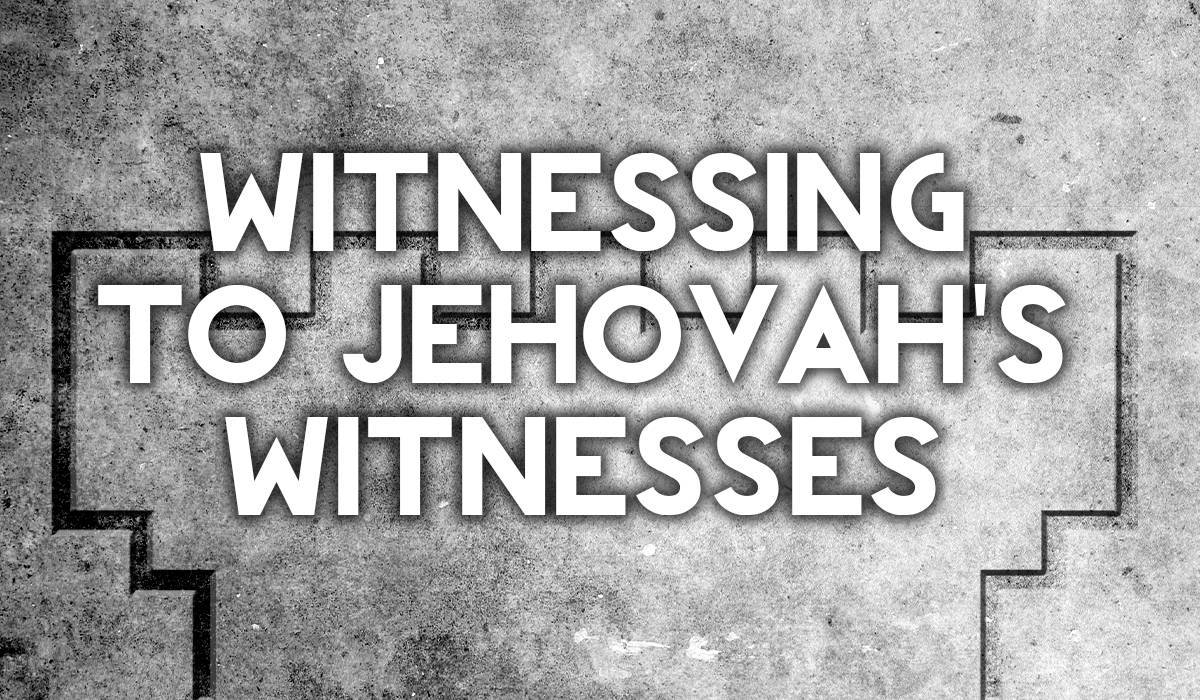 Jehovah S Witness Toy : How to witness a jehovah s