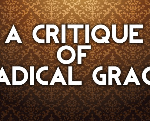 critique of radical grace