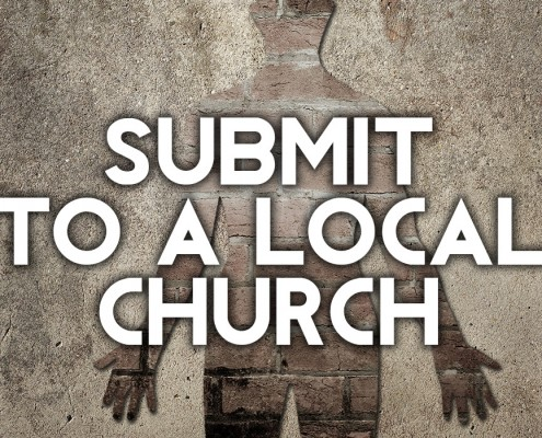 submit to a local church