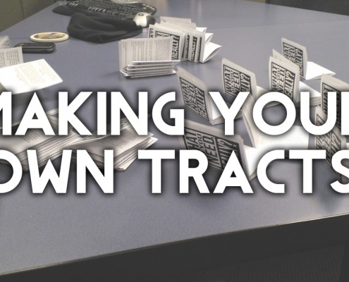 making your own gospel tracts