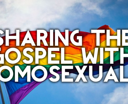 sharing the gospel with homosexuals
